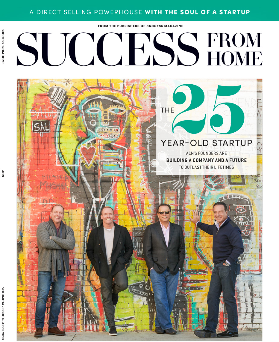 25th Anniversary Cover Success Magazine