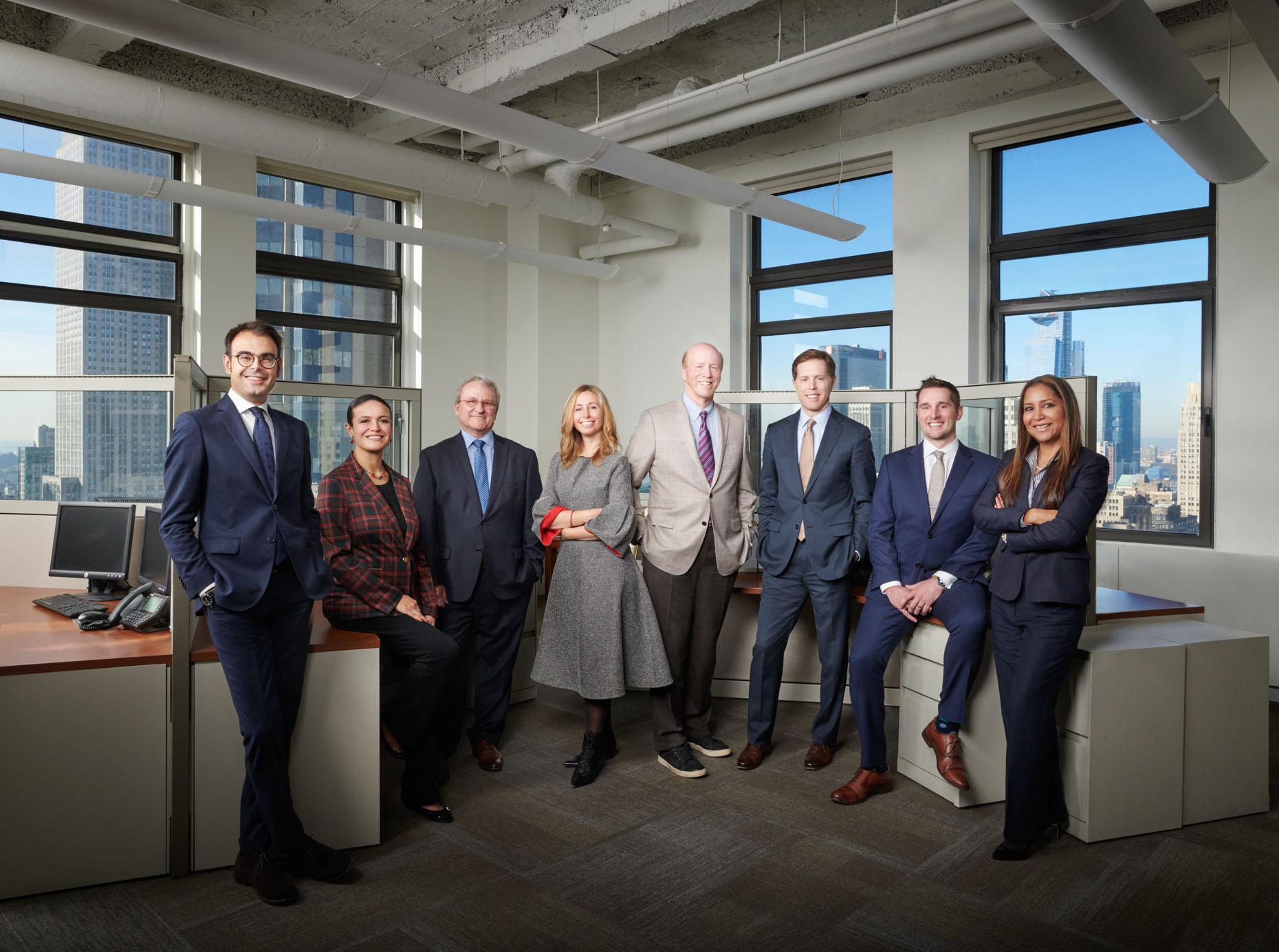 Acrow Bridge Corporate Executive Portrait | NYC