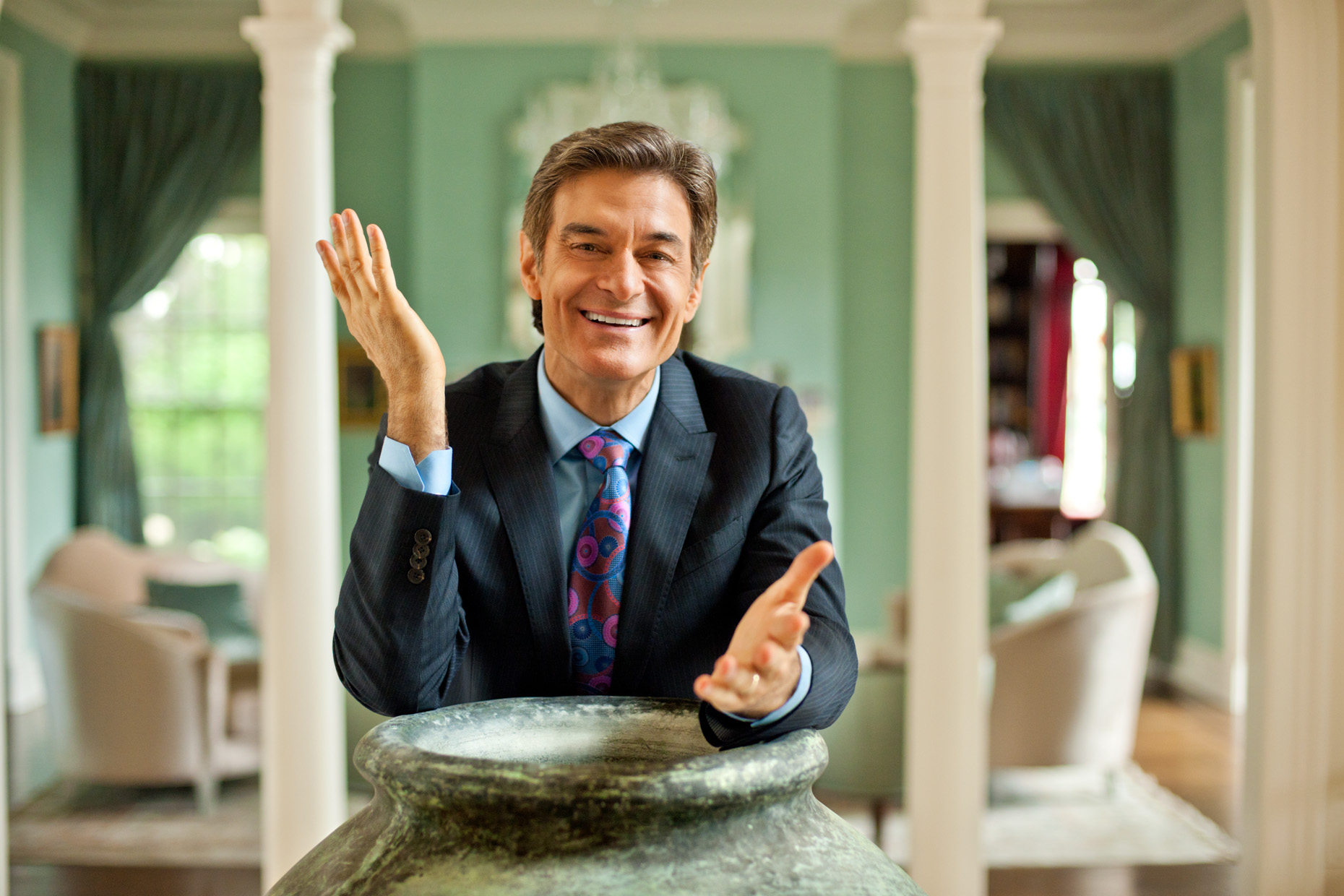Editorial Portraits - Celebrity Dr. Oz - home
