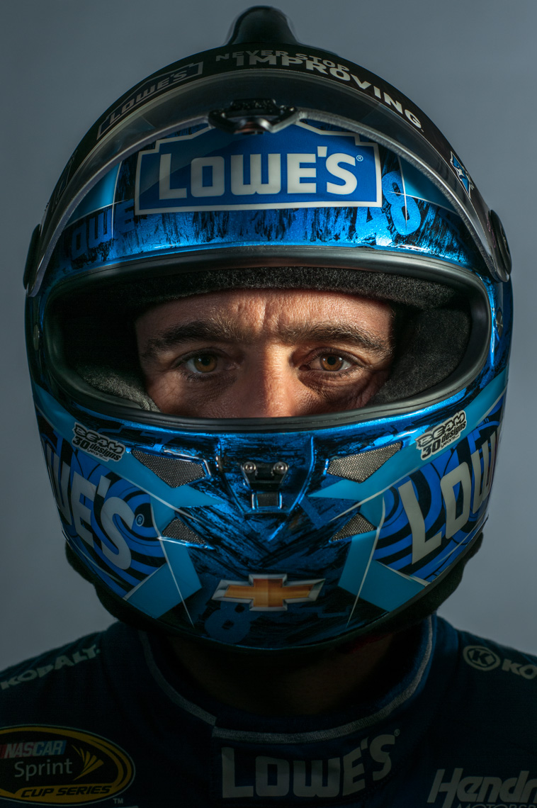 Jimmie Johnson | NASCAR driver | editorial photography