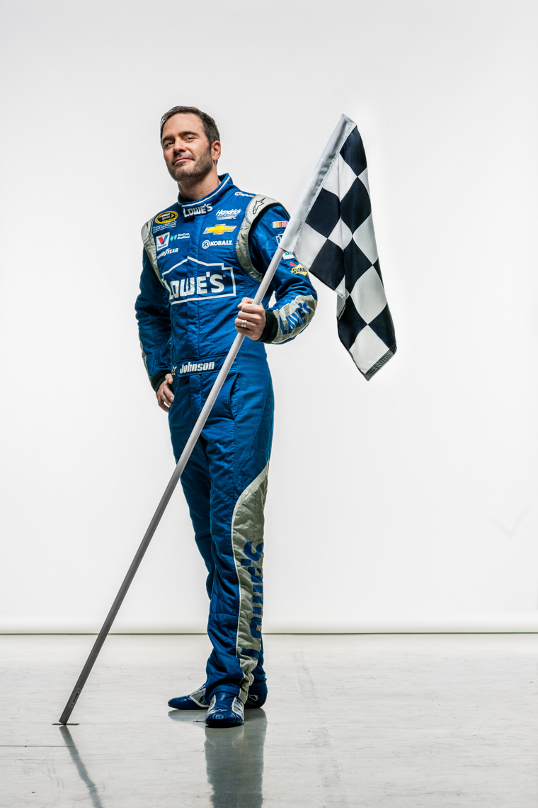 Jimmie Johnson | NASCAR checkered flag | SUCCESS editorial