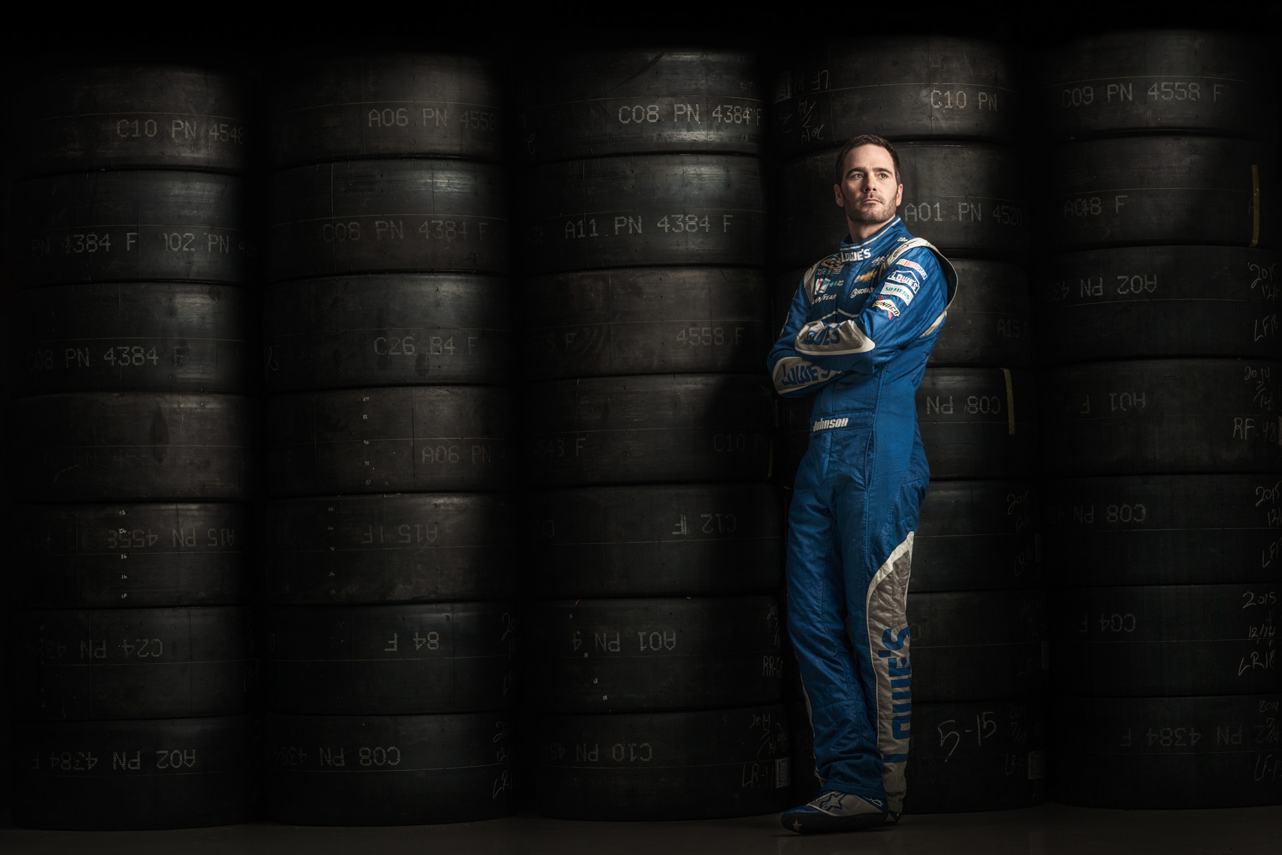 celebrity-editorial-jimmie-johnson-nascar-tires