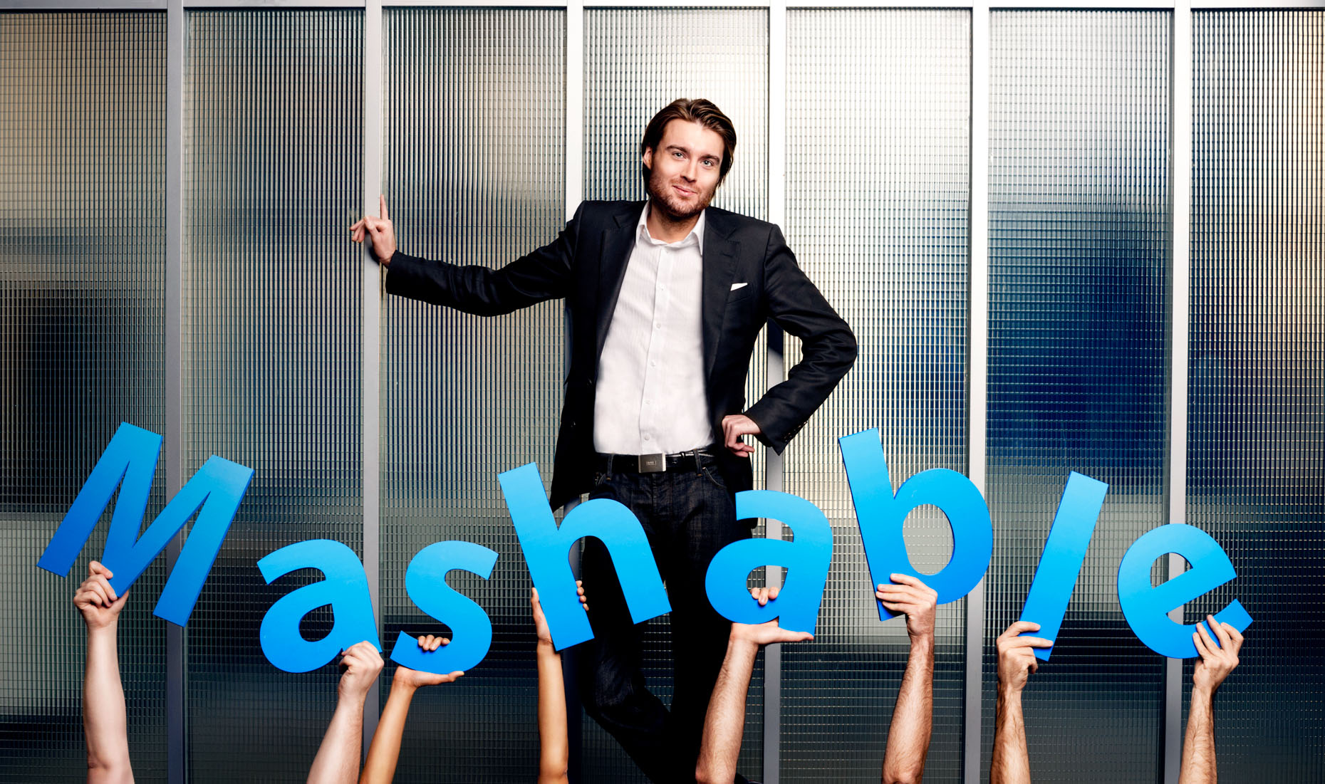 Celebrity Business Portrait - Editorial - Pete Cashmore - Mashable