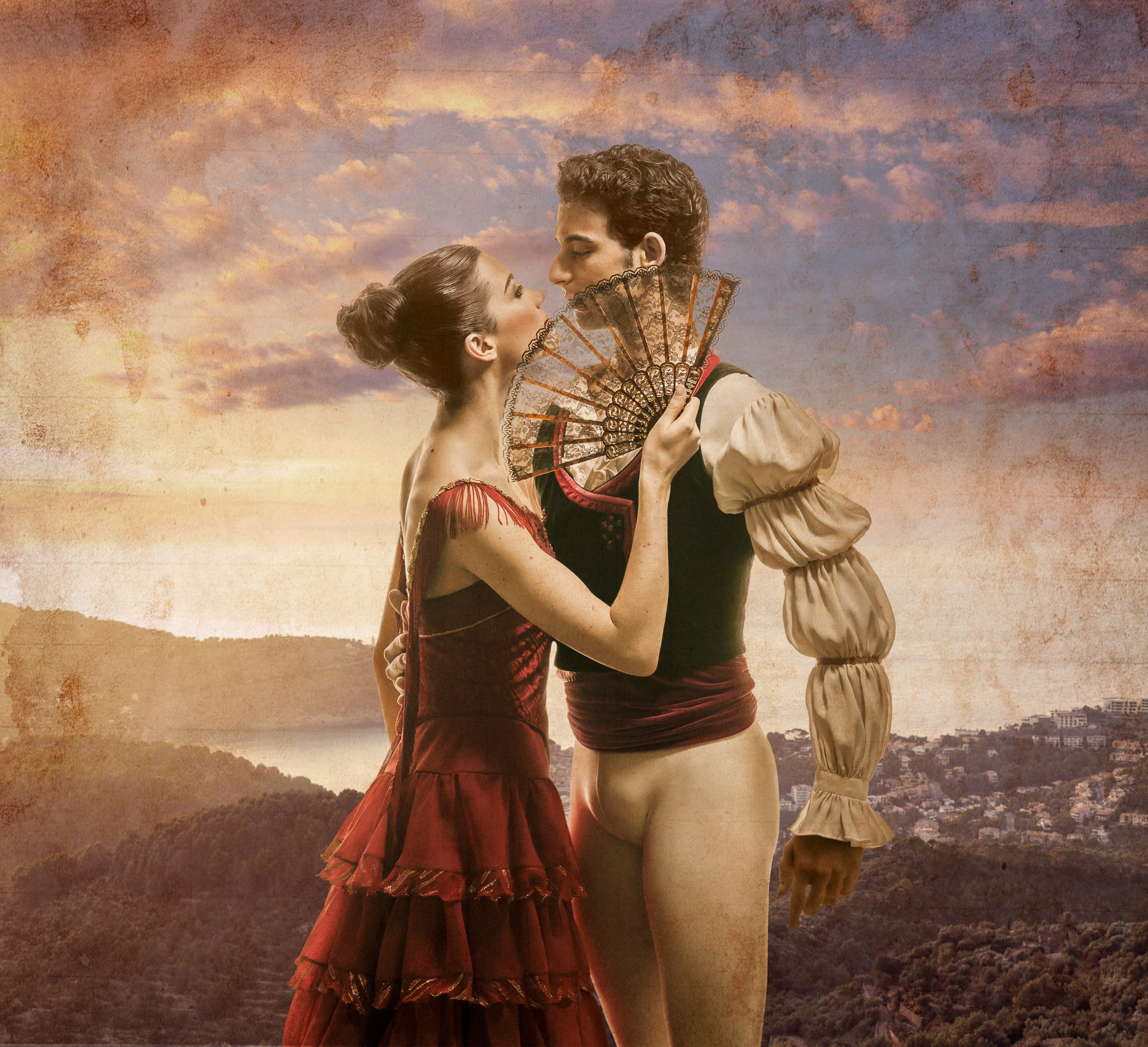Don Quixote Couple | Pennsylvania Ballet Advertising