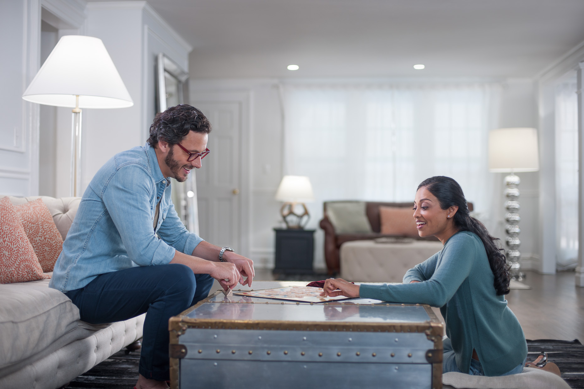 Scrabble Couple |  Philips LED Commercial Campaign