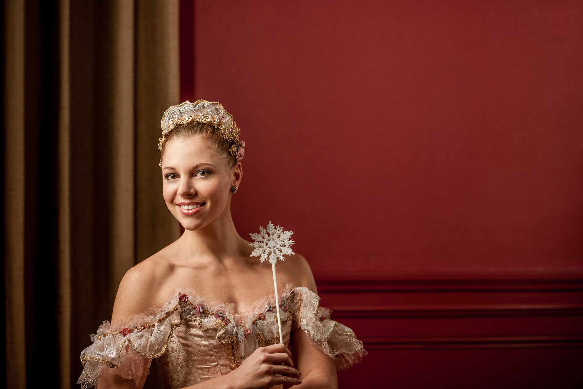 Portrait - Headshot of Sugar Plum Fairy - Nutcracker
