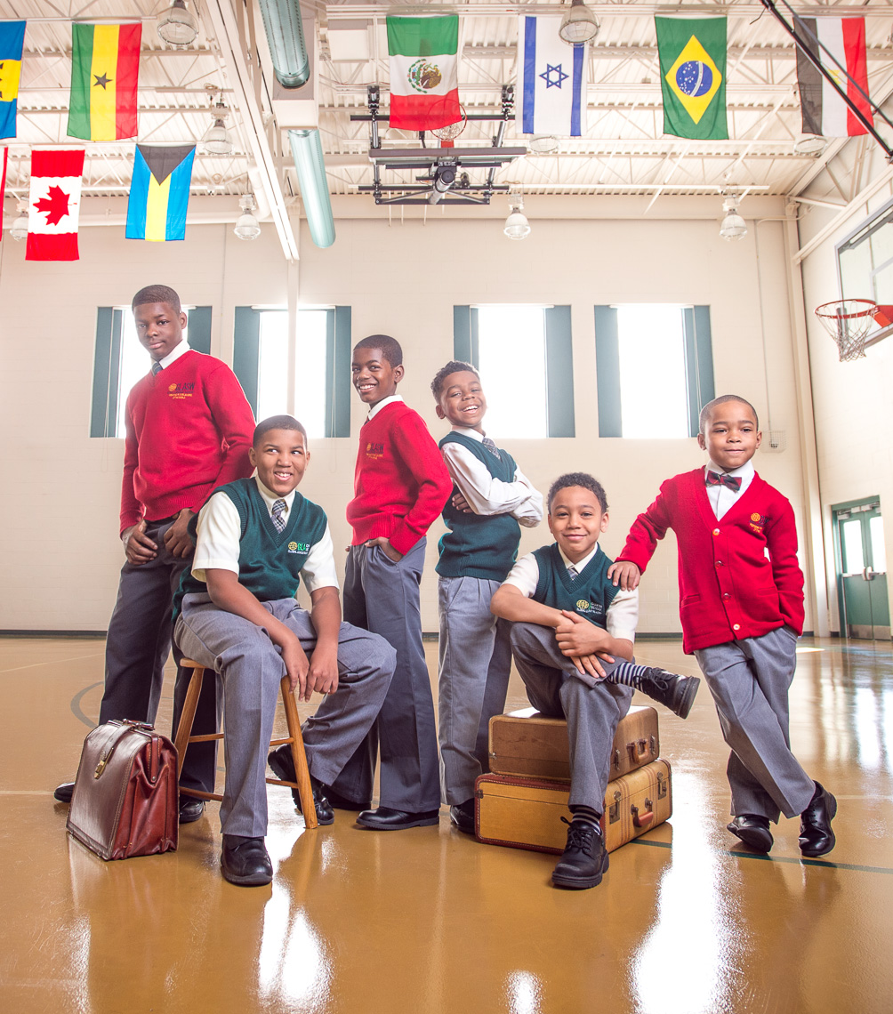 GLA Students | Boys | Philadelphia Group Portrait