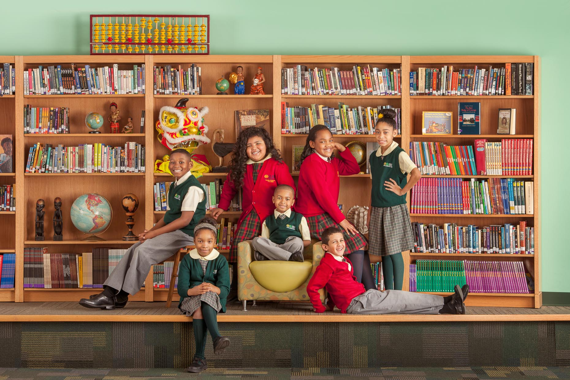 commercial-education-students-group-bookcase