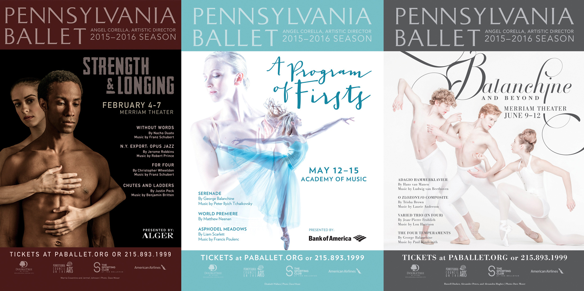 Pennsylvania Ballet Advertising | Philadephia Photographer