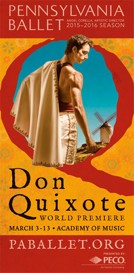 Don Quixote Windmill | PA Ballet | Philadelphia Photographer