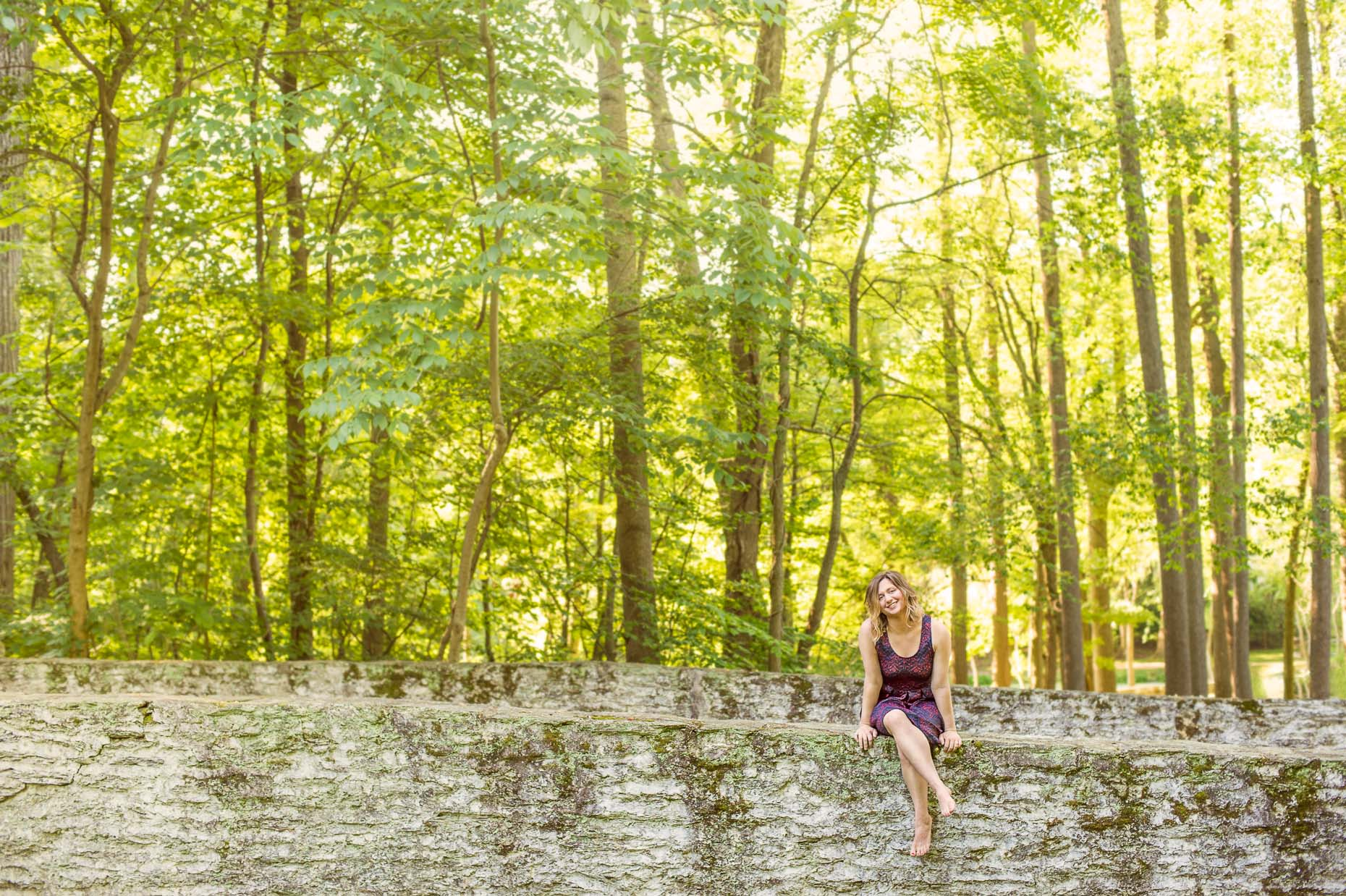 commercial-portraits-woman-wall-trees
