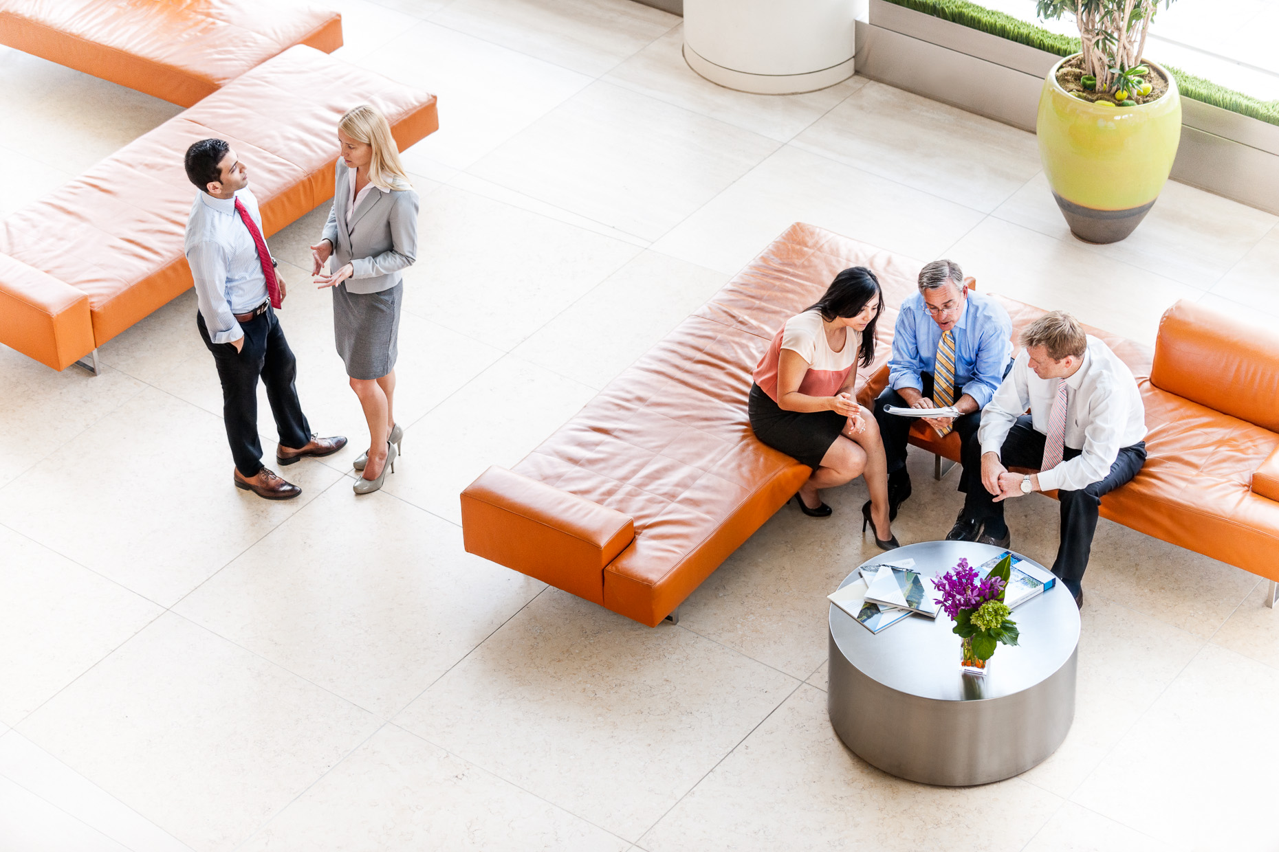 Corporate Photography - Financial Advisor Meeting - Lobby