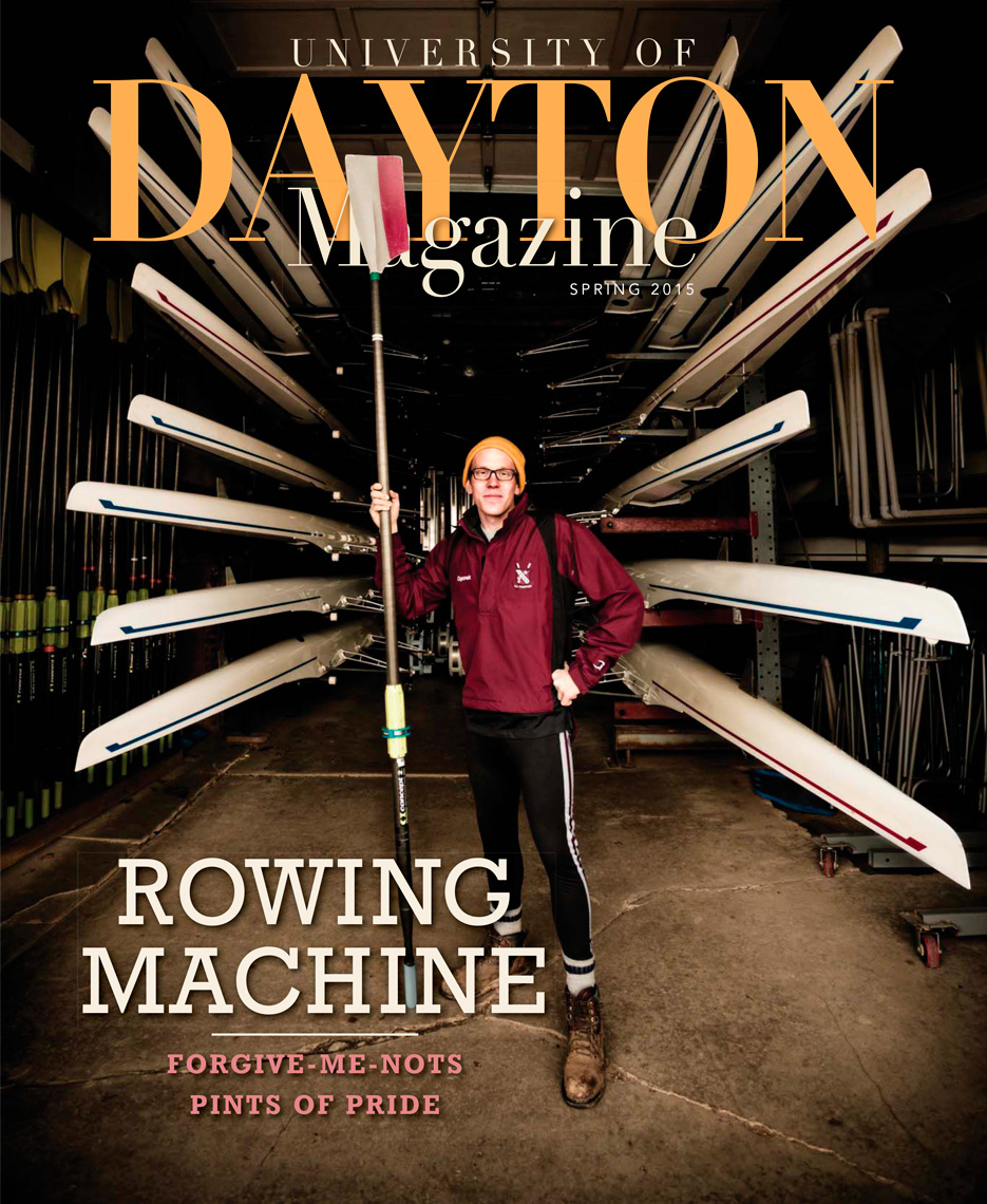 Peter Ogonek | UD Rower in Philadelphia | Cover