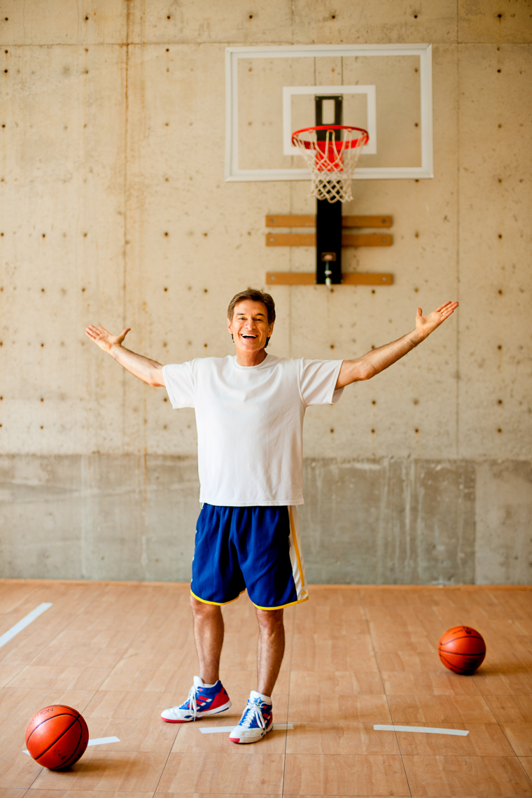Dr. Oz | Basketball | Editorial Photographer Dave Moser