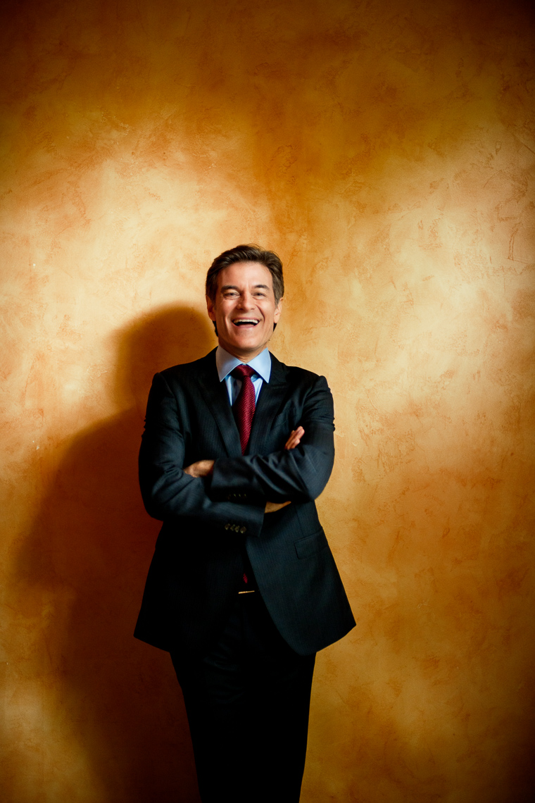 Dr. Oz | Celebrity Portrait | Editorial Photographer