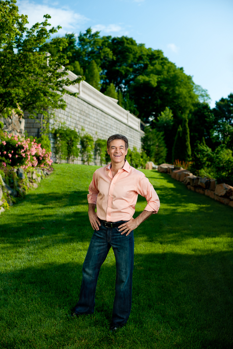Dr. Oz | Outdoor Portrait | Celebrity Editorial