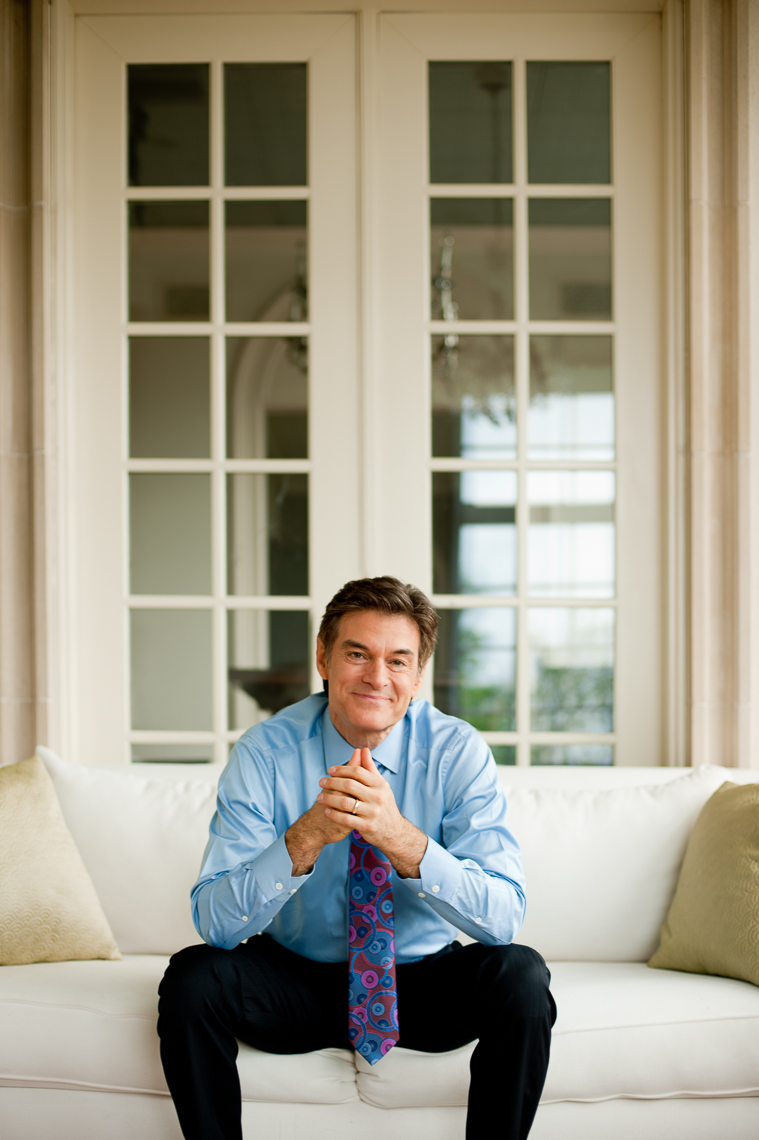 Dr. Oz | Celebrity | Editorial Photographer Dave Moser