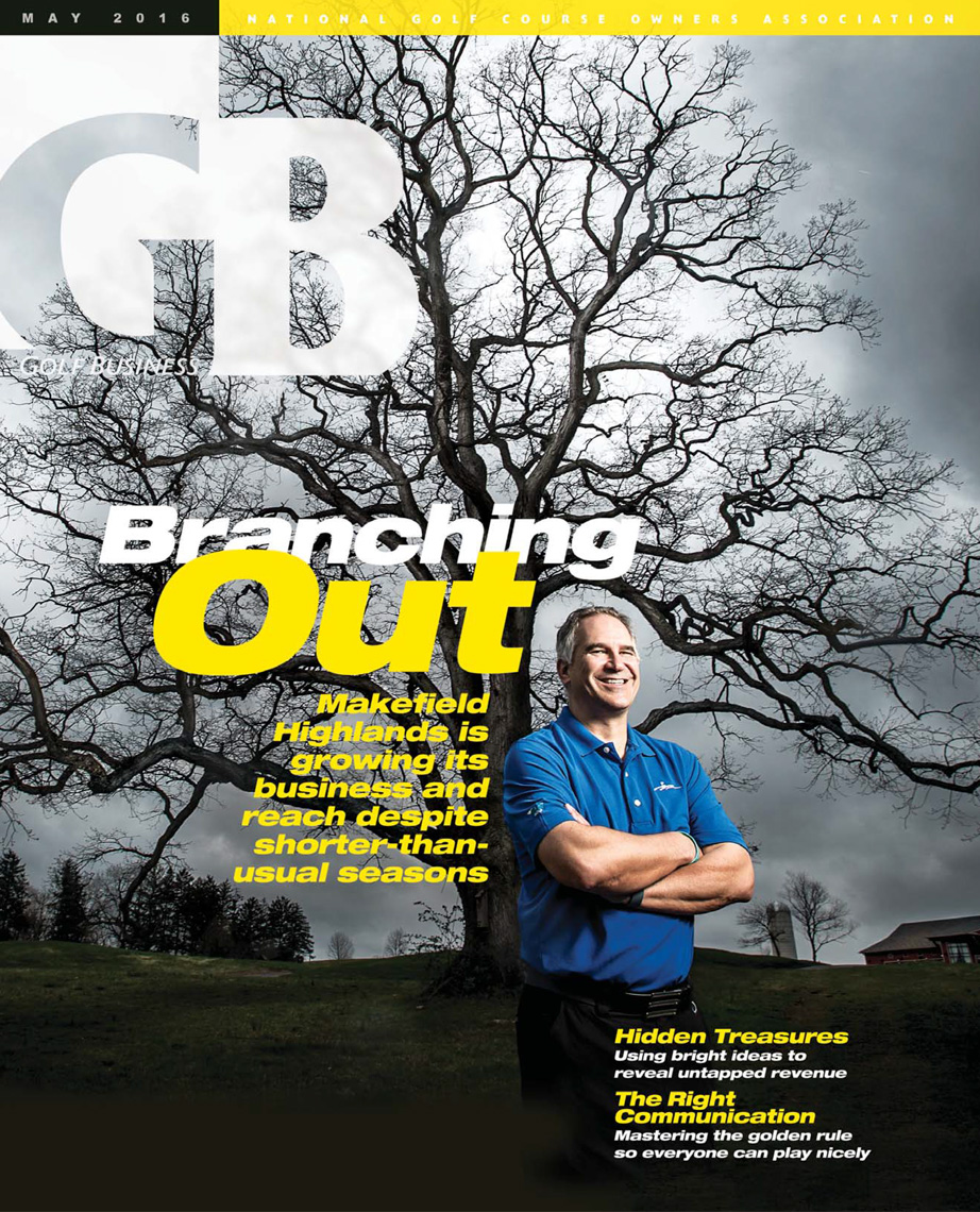 Bob Doria | Makefield Highlands GM | Golf Business Cover