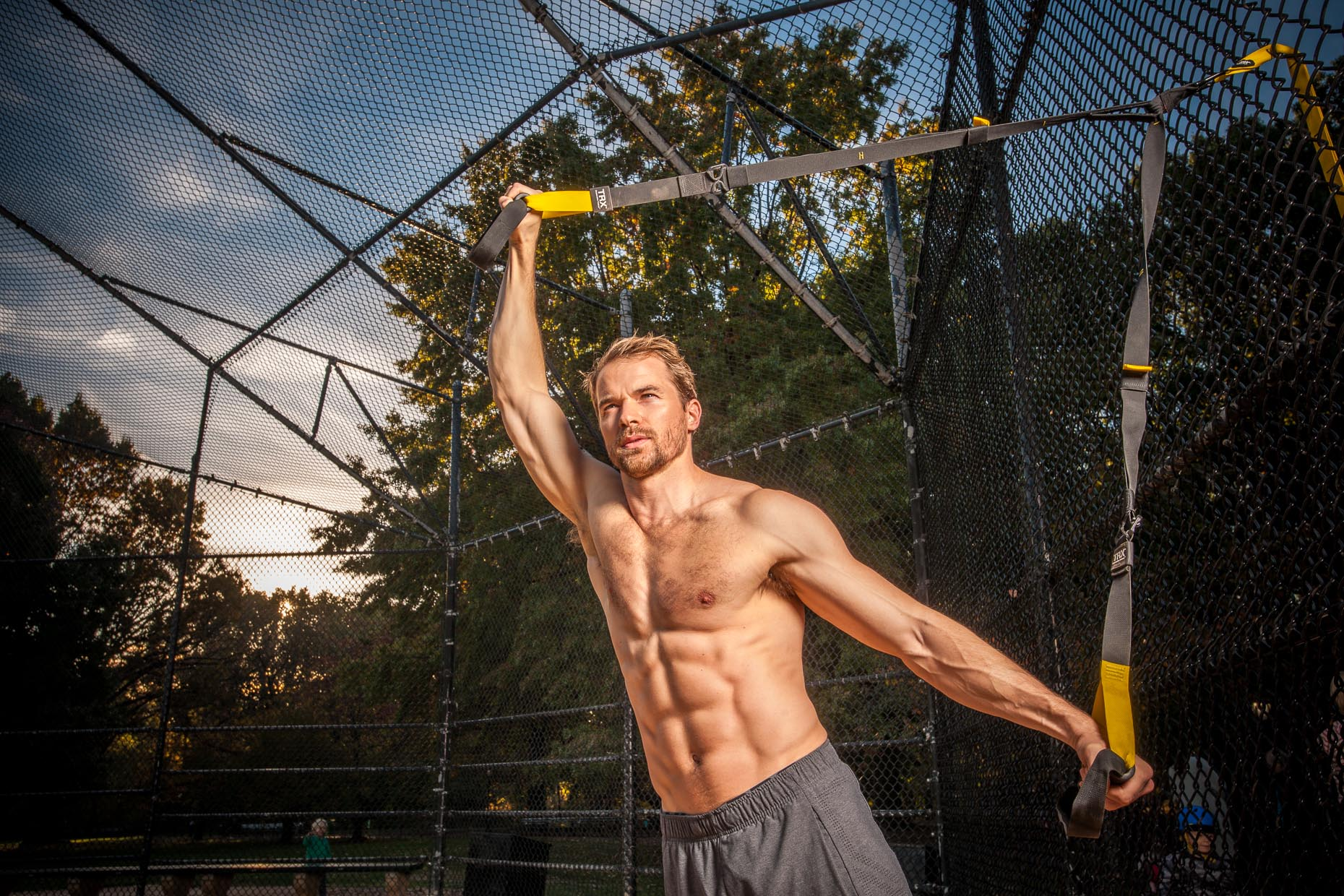 Lifestyle Photographer - Exercise - Fitness - Sports - TRX Bands