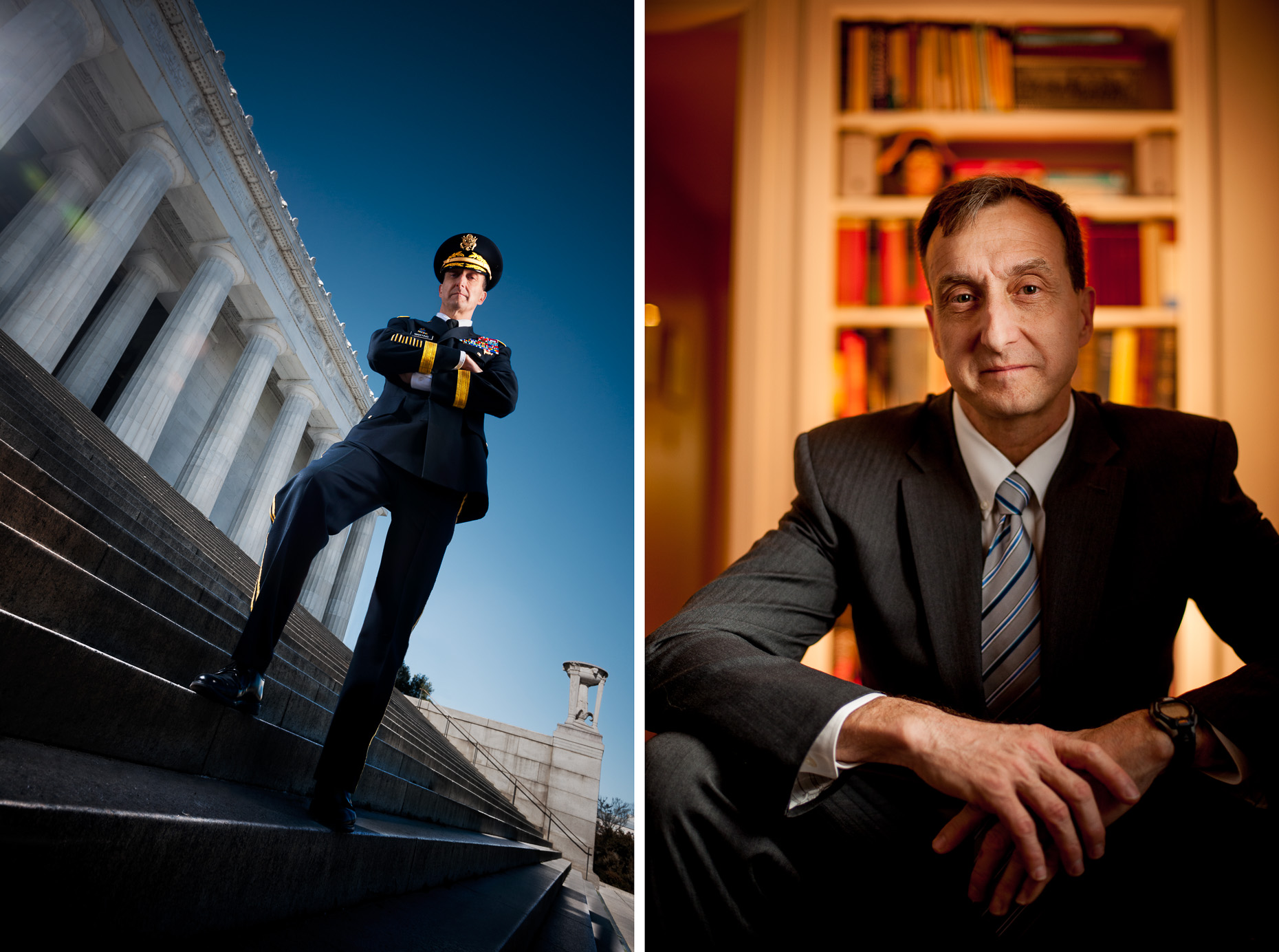 Brigadier General Mark Martins Editorial portraits
