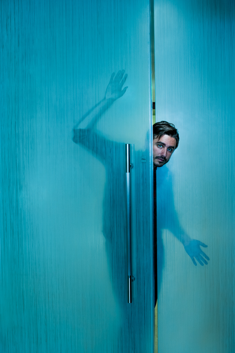 Jason | Blue Door | Editorial Photographer Moser