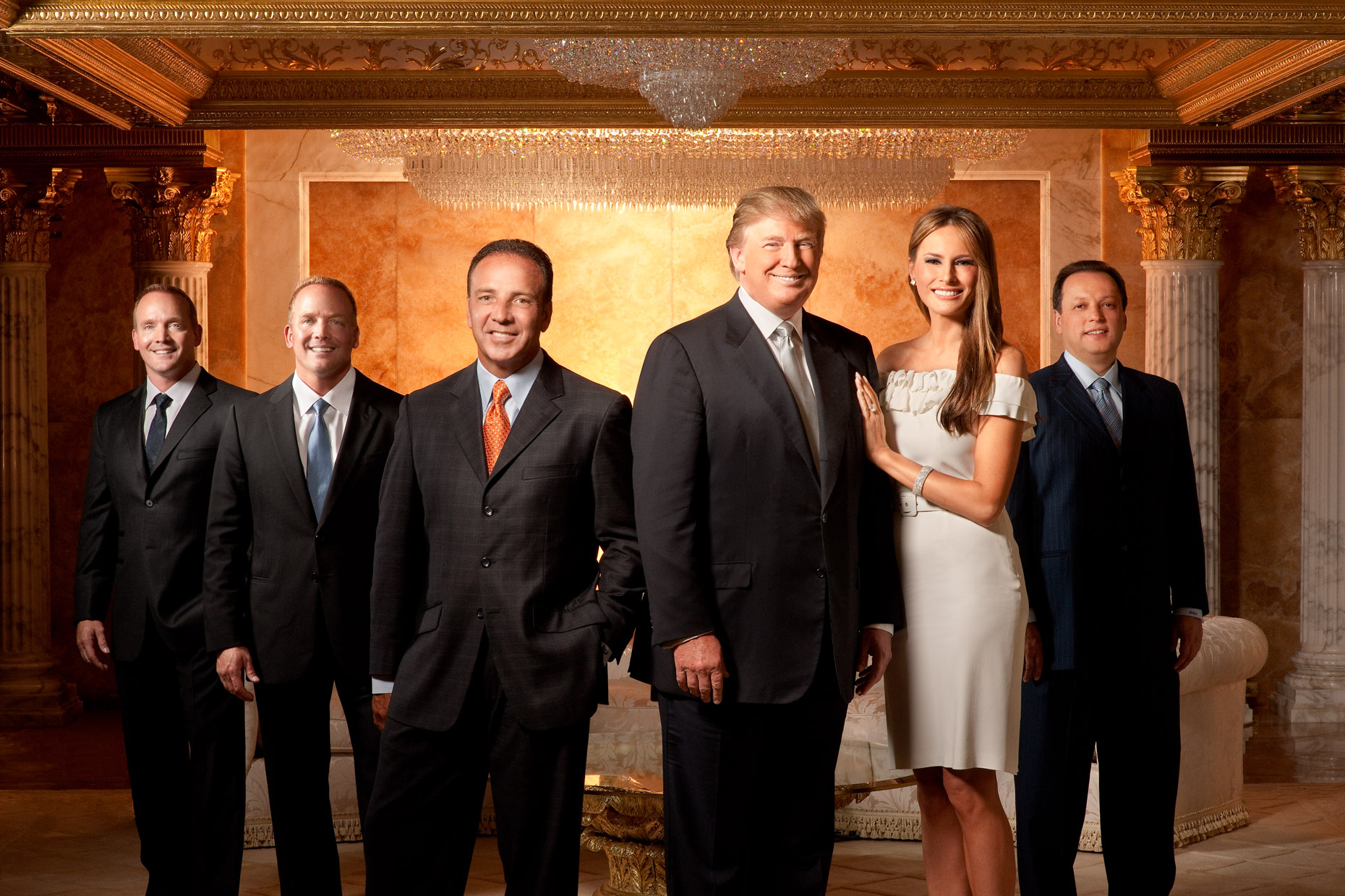 Celebrity Portrait - Editorial with Trump - ACN - Corporate