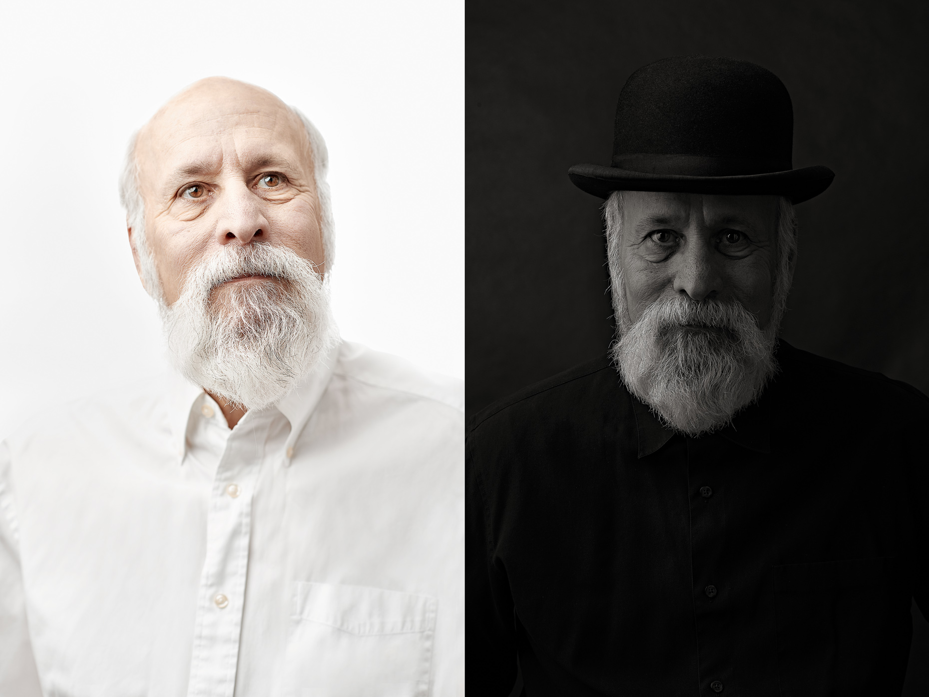 Stephen Perloff | Black and White | Commercial Portraits