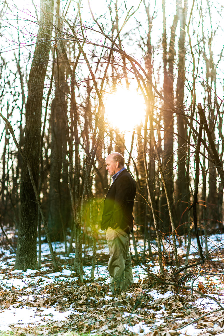 editorial-portraits-man-snow-trees-flare