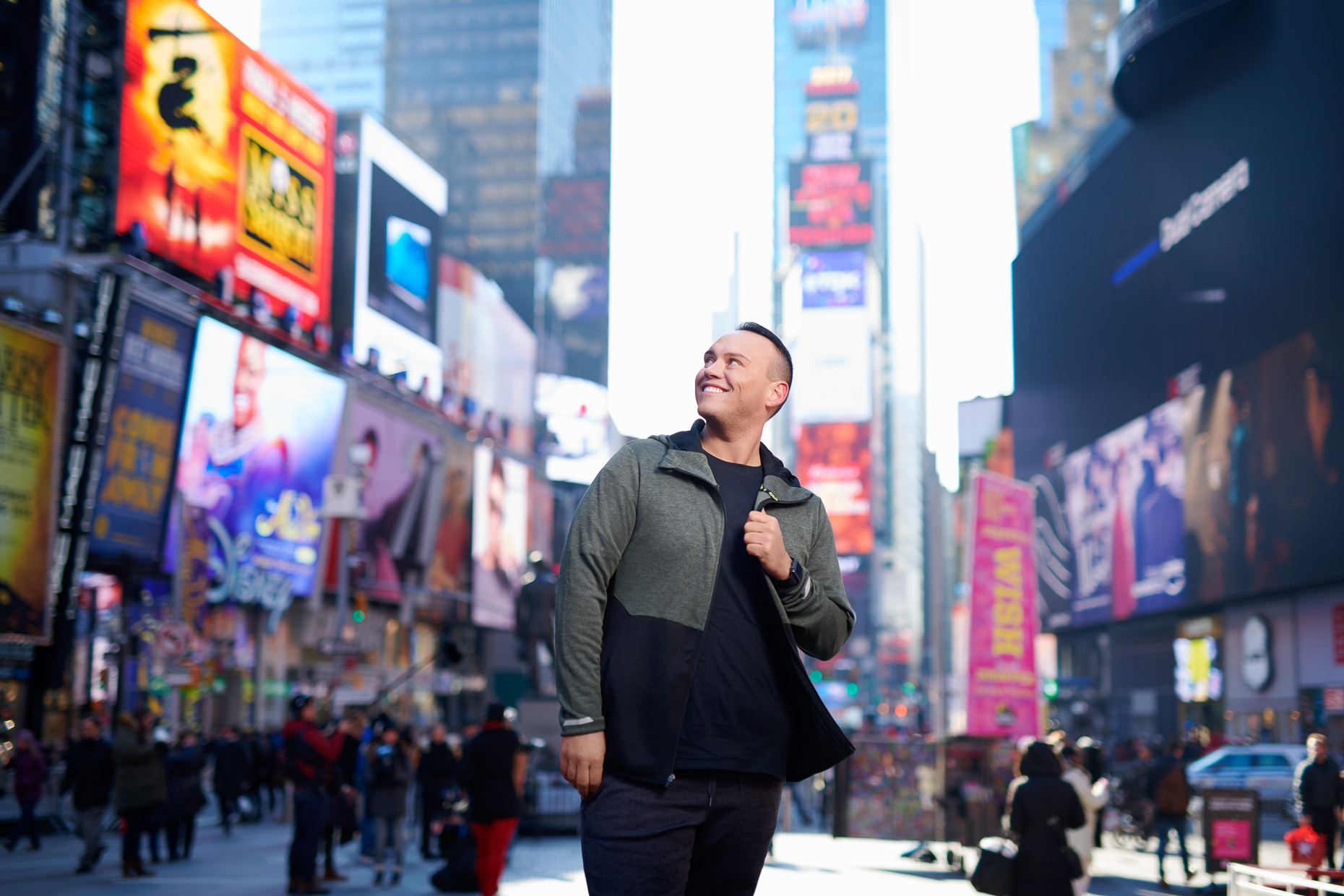 Dustin Brand | Le-Vel editorial | NYC Times Square