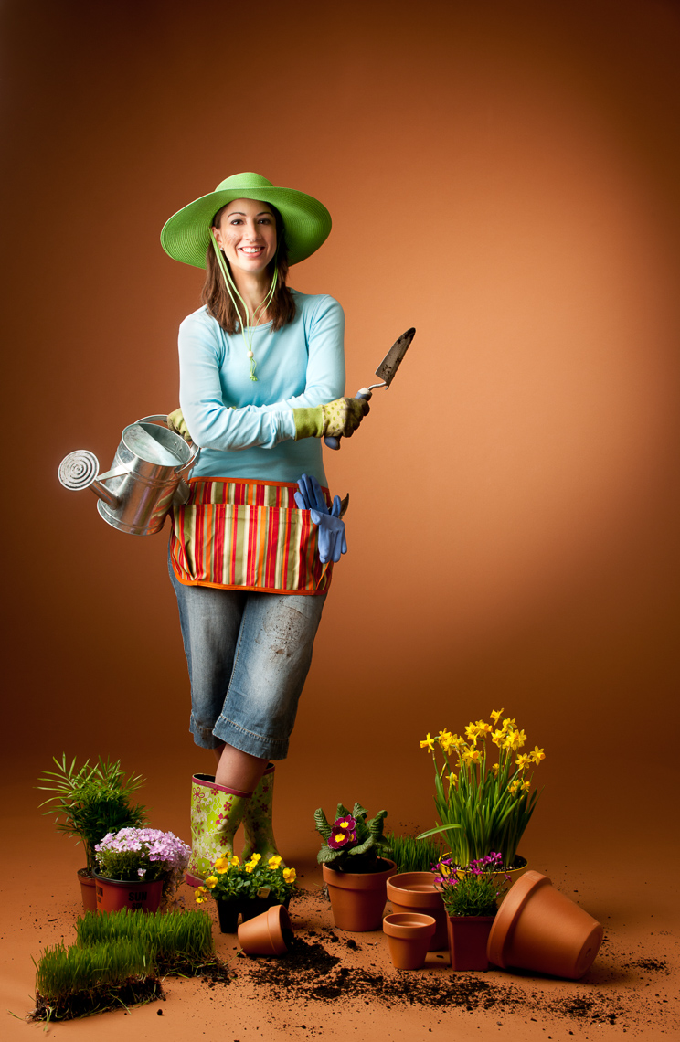 Gardening Passion Portrait | Radian Corporate Campaign