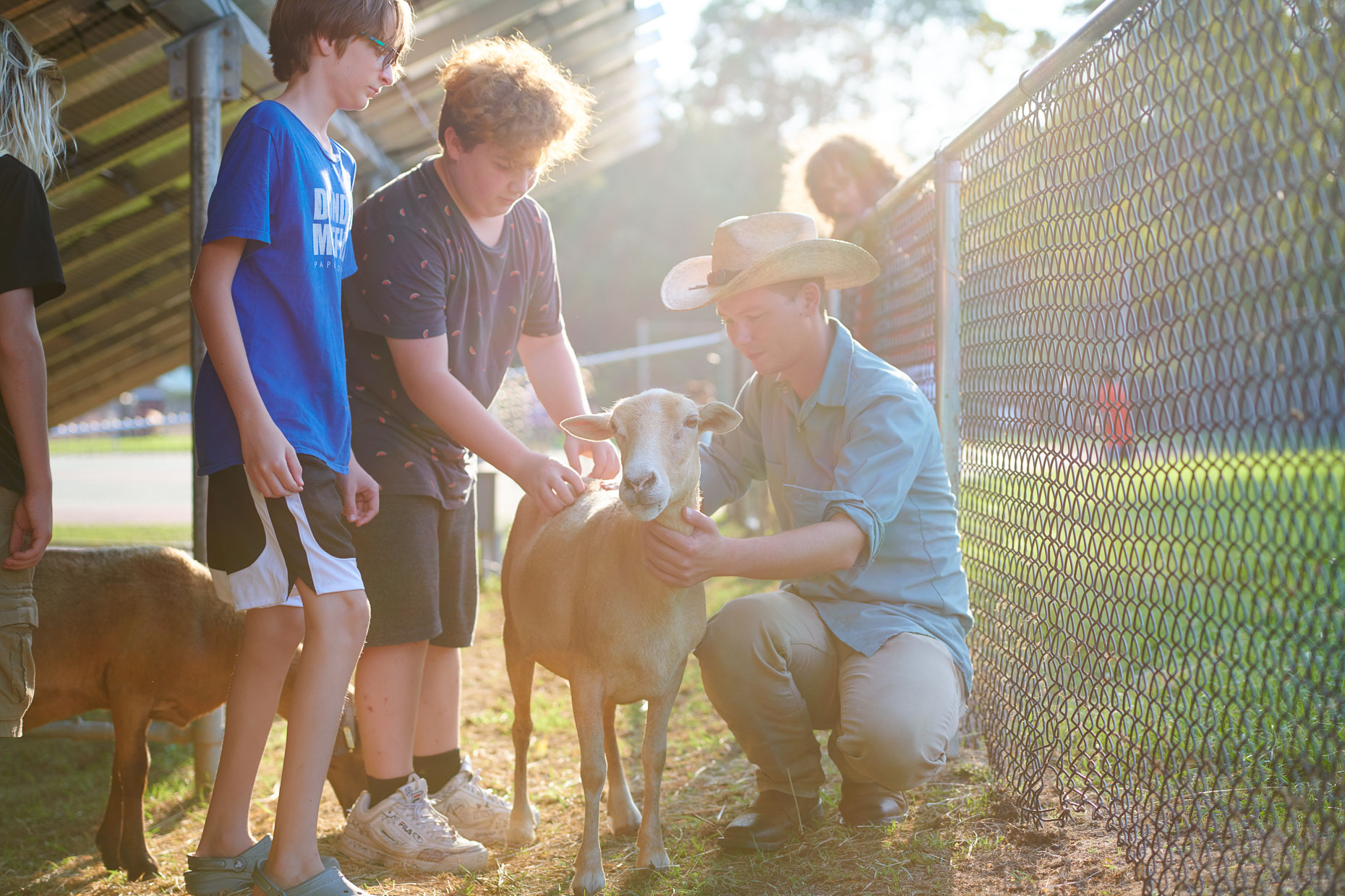 Goat Petting | Appel Farm Advertising | Commercial