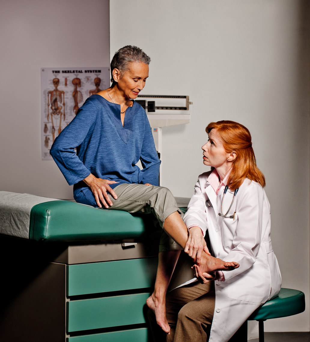 Female Doctor and Patient | Commercial Advertising
