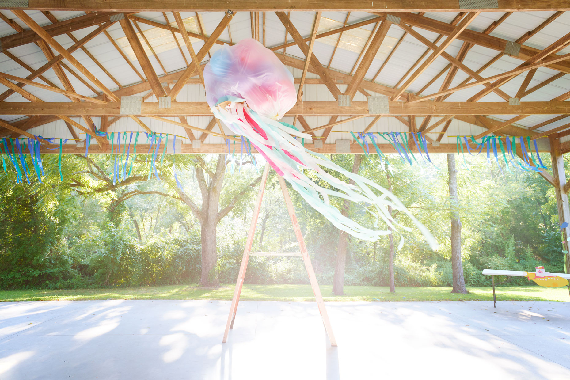 Balloon Streamer Jellyfish | Appel Farm Advertising