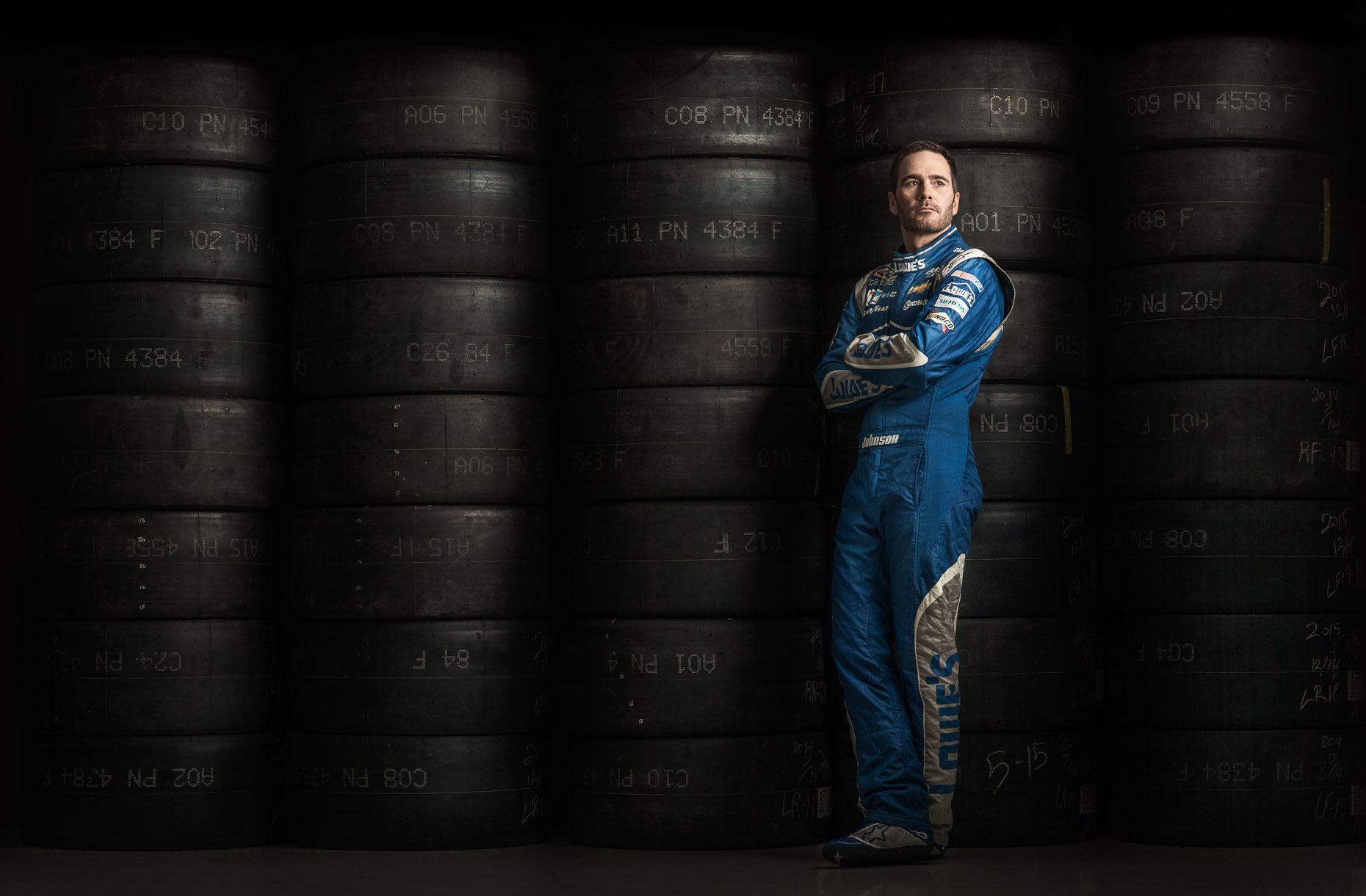 Jimmie Johnson tires | NASCAR Editorial | Charlotte