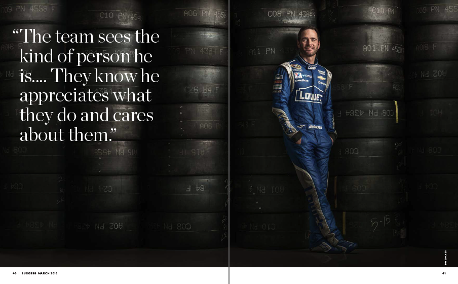 Jimmie Johnson Tires | Success Editorial Photographer