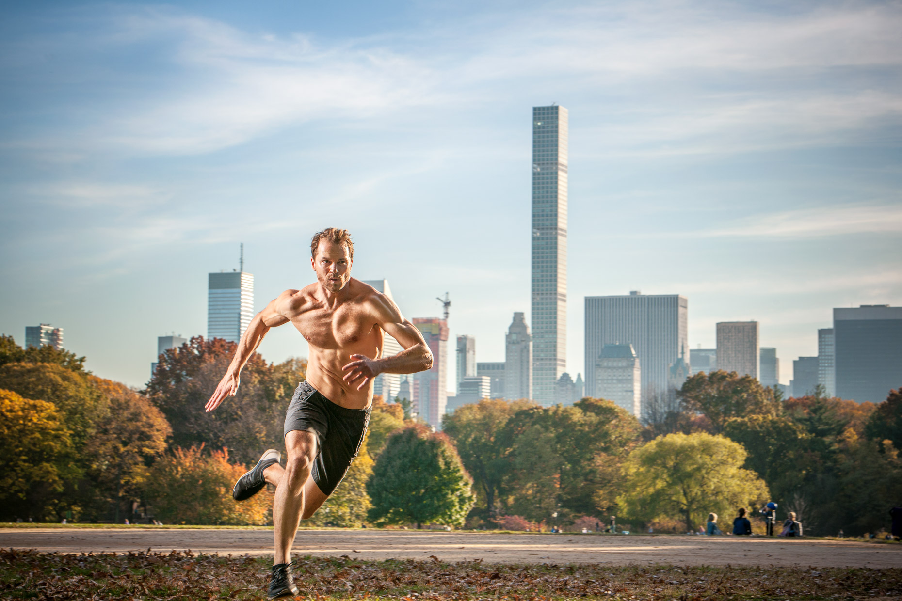Fitness Expert Chris Ryan | NYC Central Park | Editorial