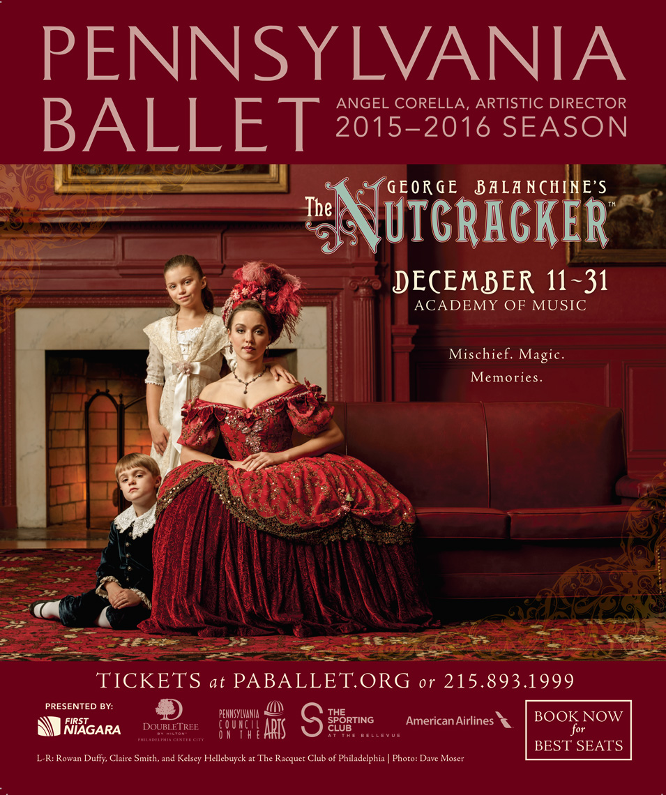Nutcracker Family | PA Ballet Philadelphia Photographer