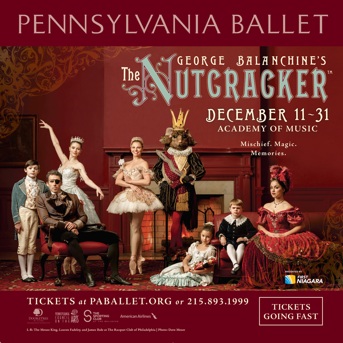 Nutcracker Cast | PA Ballet | Philadelphia Photographer