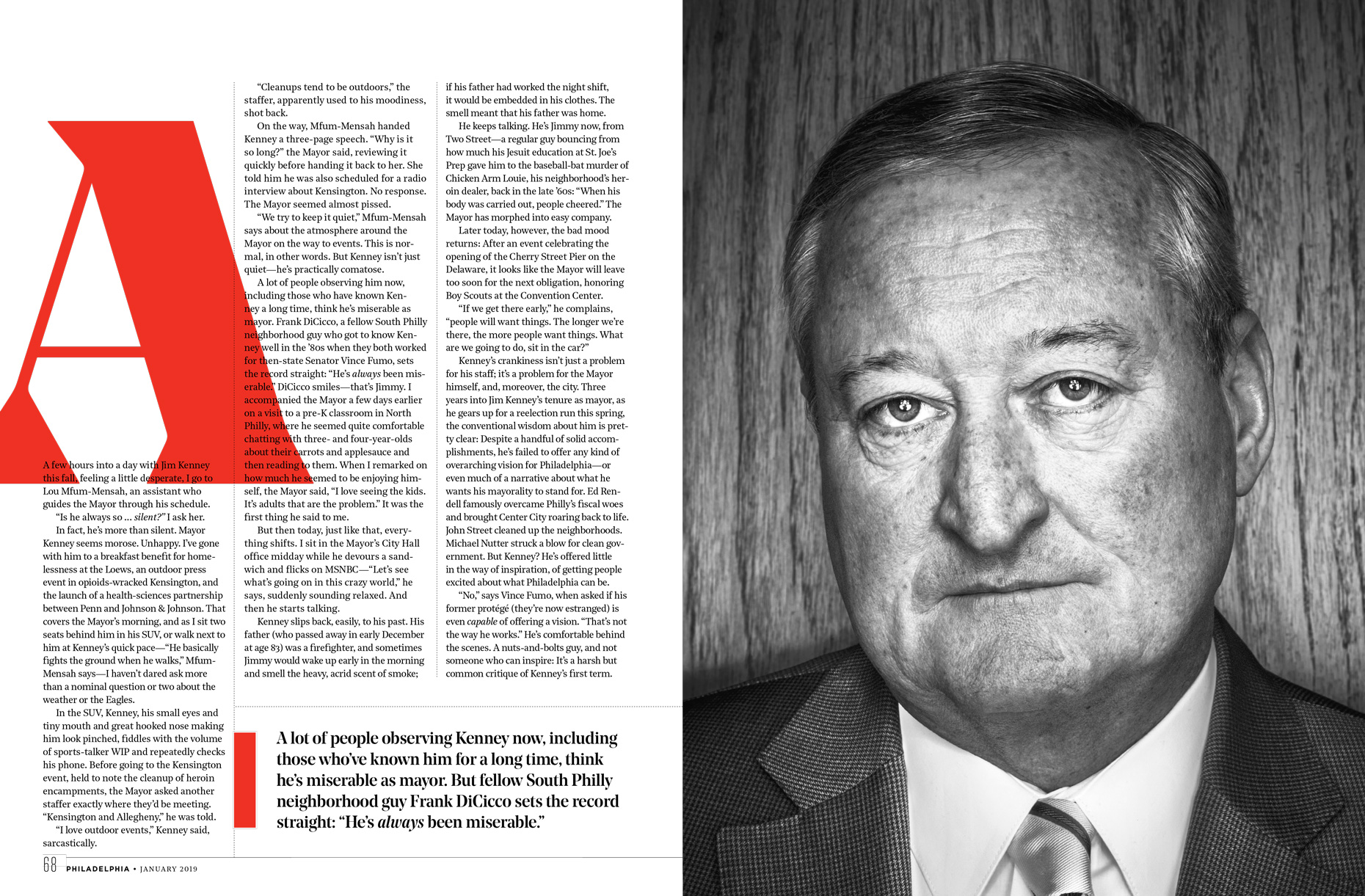 Philadelphia Mayor Jim Kenney  | Philly Mag Editorial