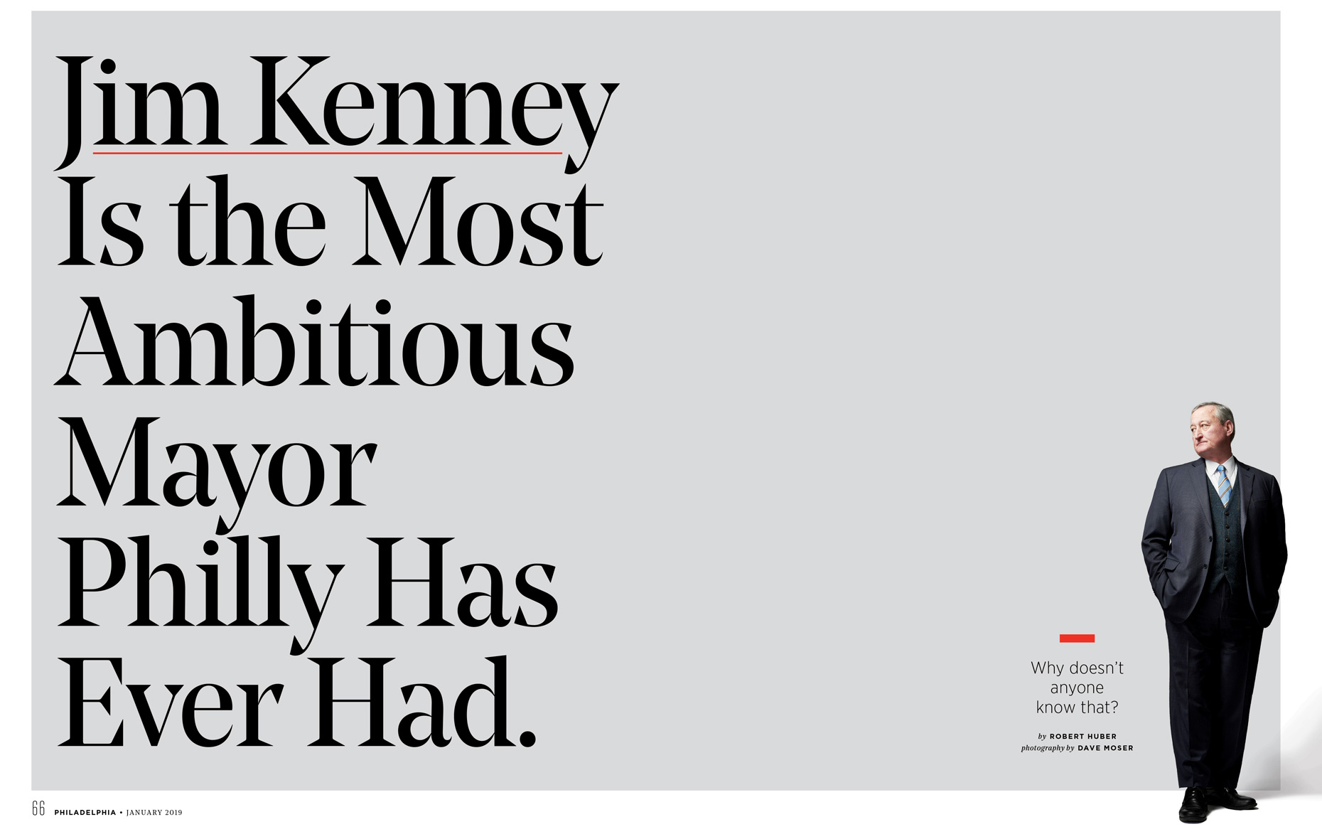 Jim Kenney | Philadelphia Mayor | Philly Mag Editorial