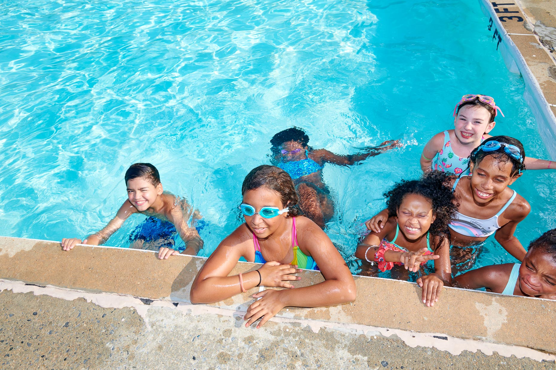 Kids in Pool | Appel Farm Advertising Campaign