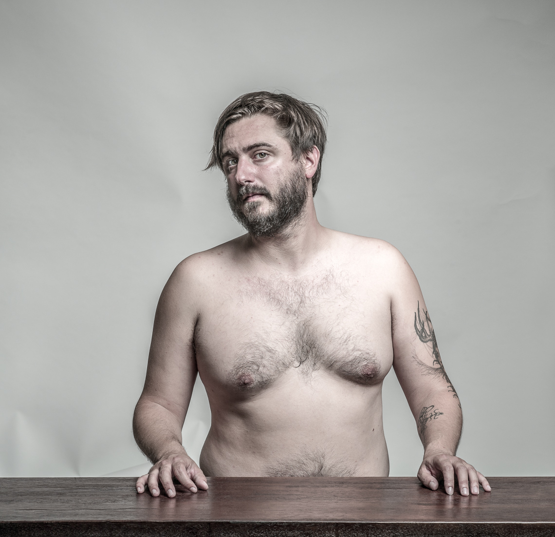 Jason | Topless Portrait | Philadelphia Photographer