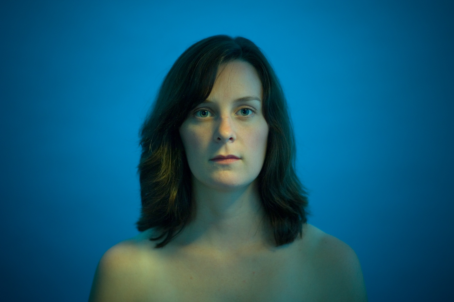 Janette in Blue | Philadelphia Photographer Dave Moser