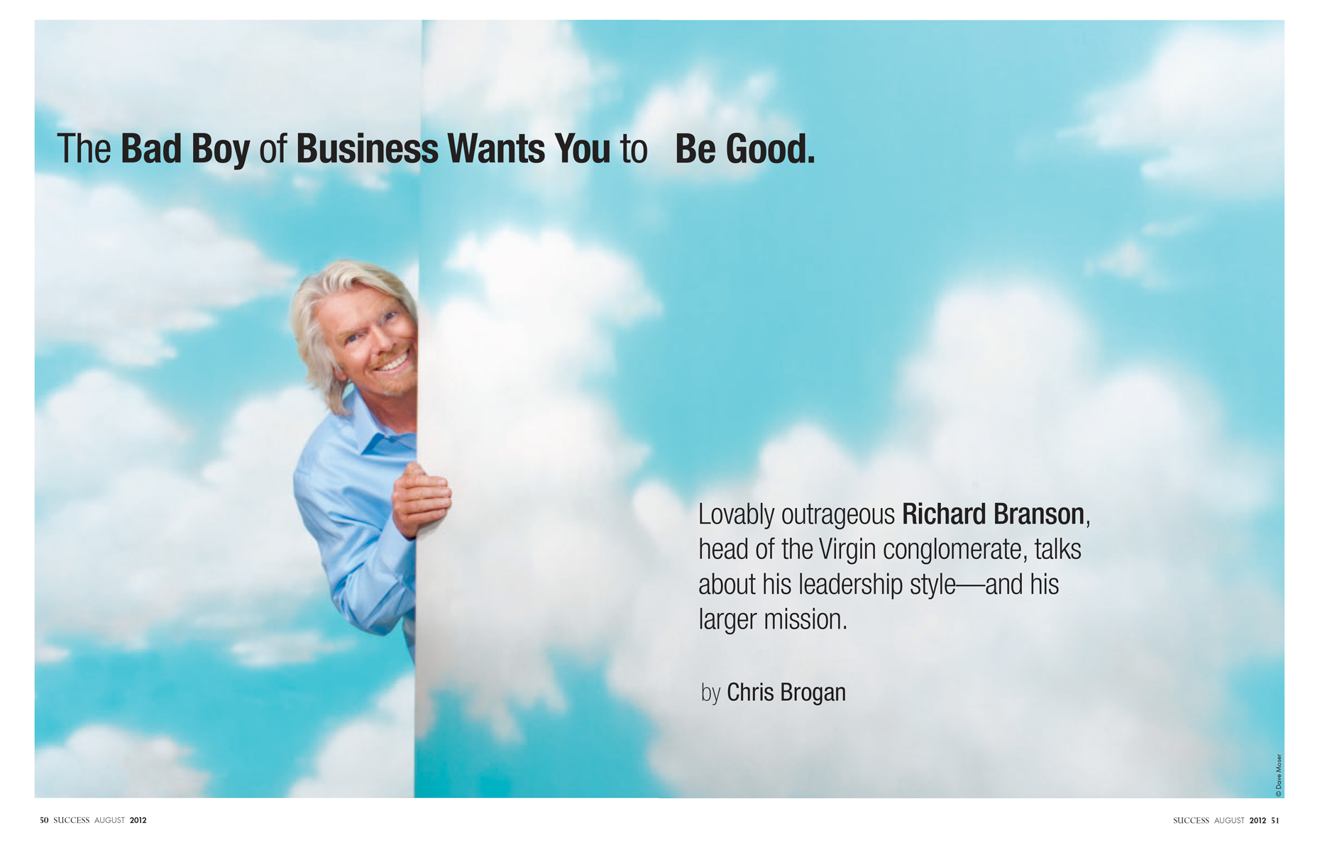 Richard Branson | Virgin Group | SUCCESS editorial