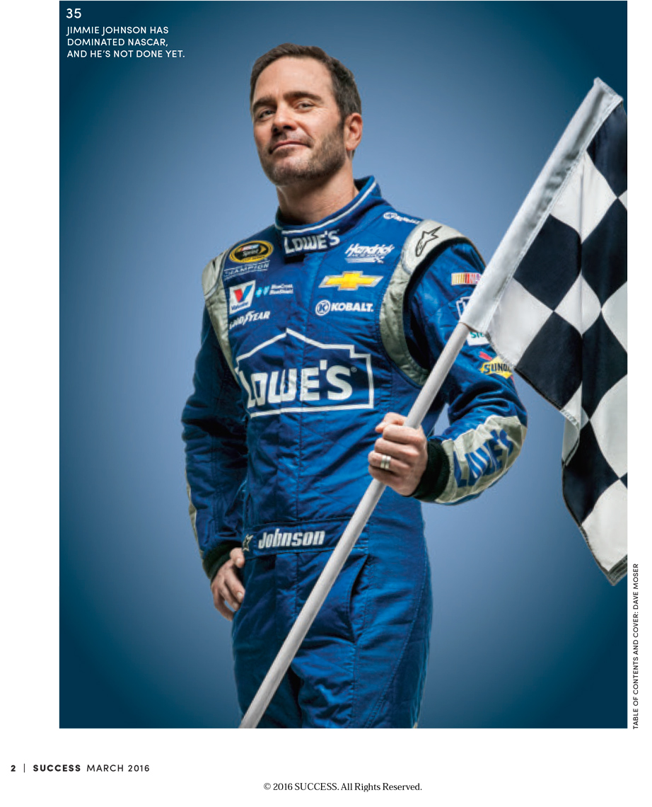 success-magazine-editorial-celebrity-jimmie-johnson-flag