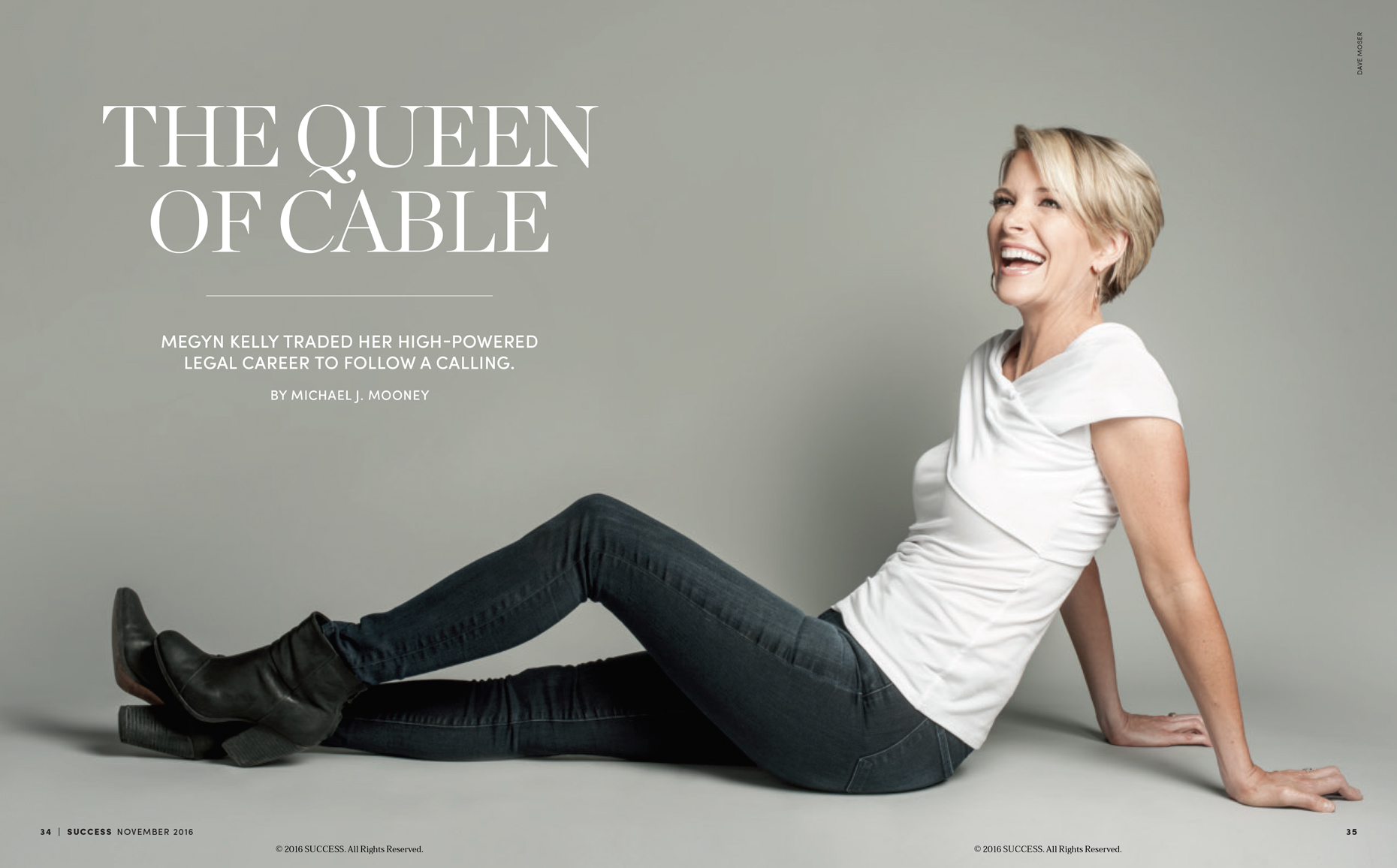 Megyn Kelly | SUCCESS Magazine | Editorial Photographer